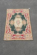 A woven carpet in 18th century Axminster style, late 19th/ 20th century