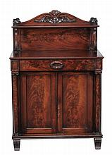 A George IV mahogany side cabinet , circa 1825