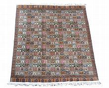 A Kashmir silk carpet, 300cm x 240cm