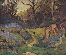 Philip Maurice Hill (1892-1952) - Path in spring