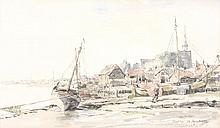 James McBey (1883-1959) - Early Morning, Maldon