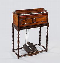 A miniature free-reed organ, French, circa 1860