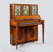 An upright piano by Robert Woffington, Dublin, circa 1790