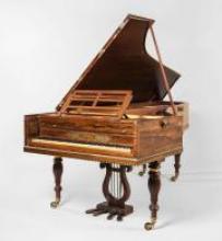 A grand piano by Muzio Clementi & Co., London, 1821