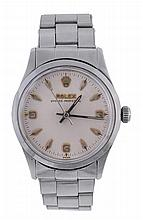 Rolex, Oyster Perpetual, Ref. 6532, a stainless steel centre seconds...