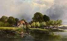 Henry John Boddington (1811-1865) - View of Cleve Mill on the Thames