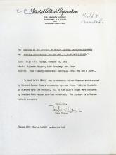 BEATLES, THE - The Beatles 1965 press release for a special screening of their...