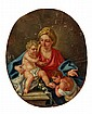 Circle of Francesco de Mura, Madonna and Child