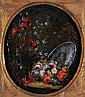 Follower of Mario Nuzzi, Still lifes of flowers, A