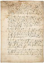 Draft or copy letter as Lord Treasurer to Lord North and the Sheriff and JP...
