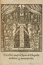 Meerbeck (Adrian de) - Theatre Funebre ou sont Representéez les Funerailles de plusieurs Princes