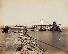 Egypt, Suez Canal & Malta.- - Family Photograph Album of the Journey on H.M.S Crocodile, 1872-74,