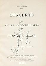 Concerto for Violin and Orchestra, musical score