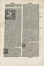 Aristotle.- Niphus (Eutychius Augustinus) - De intellectu libri sex. Eiusdem De demonibus libri tres,