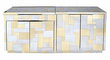 Paul Evans for Directional Furniture, a Cityscape four door credenza or side...