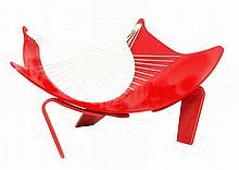 Peter Karpf for Christensen & Larsen, a Wing lounge chair, circa 1966