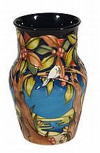 Aqualaline, a Moorcroft shoulder ovoid vase, signed, limited edition 62/250