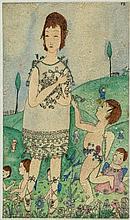 Bianco (Pamela, 1906-1994) - Two Children at Play; The Big Girl