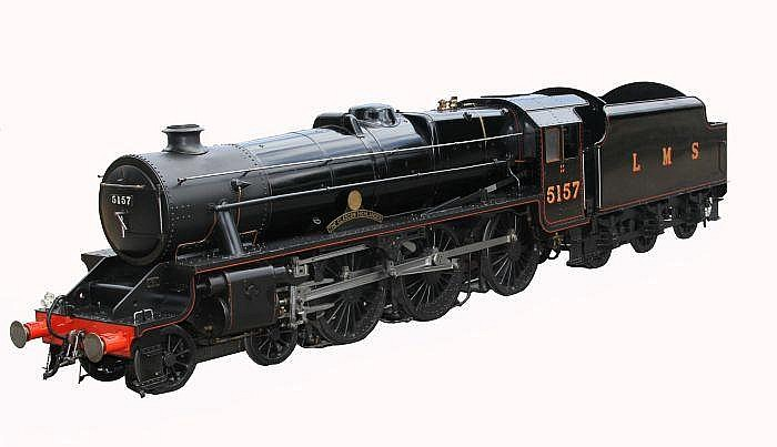 An exhibition standard 7 ¼ inch gauge model of