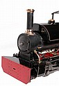 A 5 inch gauge model of a British Railways 0-4-0
