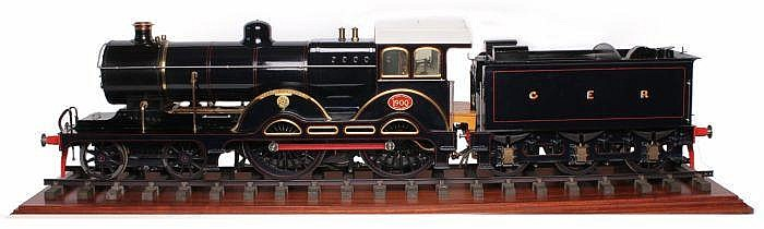 A fine exhibition standard 5 inch gauge model of