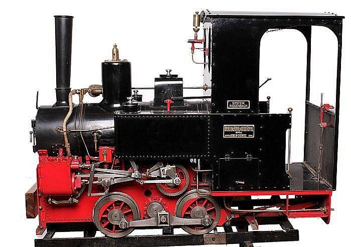 A well engineered 7 ¼ inch gauge model of an