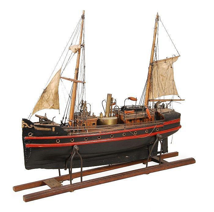 A steam-powered presentation model of the Congo