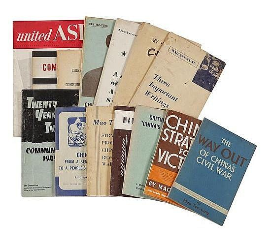 Group of Communist Books by Mao and others, 19