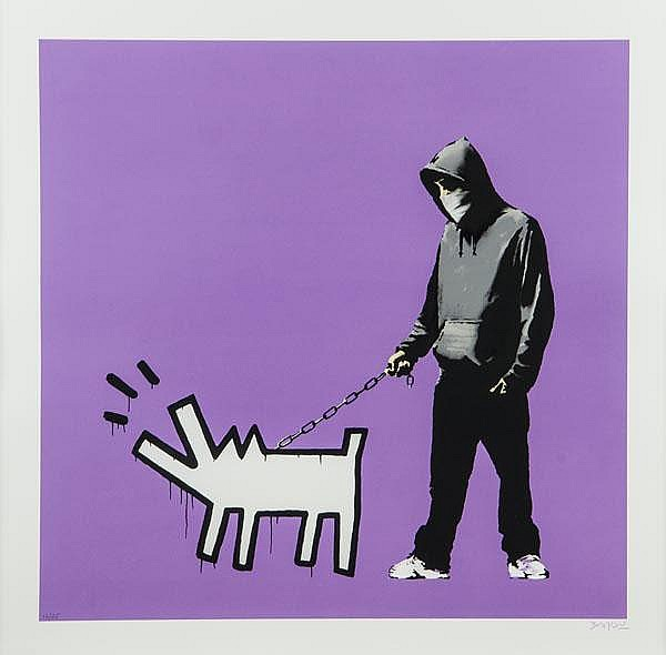 ARR Banksy (British, b.1975), Choose Your Weapon