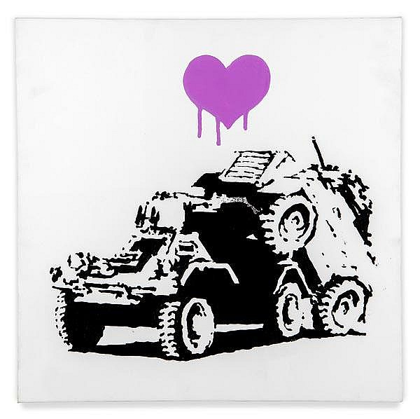 ARR Banksy (British, b.1975), Everytime I Make