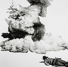 John Baldessari (b.1931) - Smoke, Tree, Shadow and Person
