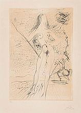 Salvador Dalí (1904-1989) - Venus de la Constellaciones con Picador (m.&l.790;)