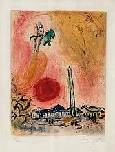 Marc Chagall (1887-1985) - La Place de la Concorde (m.353)