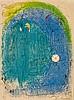 Marc Chagall (1887-1985) - Mere et Enfant devant Notre-Dame (m.82)