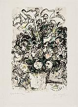 Marc Chagall (1887-1985) - The White Bouquet (m.579)