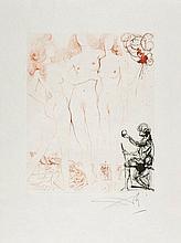 Salvador Dalí (1904-1989) - The Judgement of Paris (m.&l.123;)