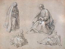 Abraham Bloemaert (1564-1651) - Figure studies