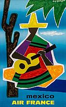 GEORGET, Guy  (1911-1992) - AIR FRANCE, MEXICO