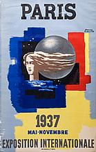 COLIN, Paul - PARIS, 1937, EXPOSITION INTERNATIONALE