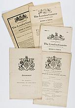 Large collections of papers, letters and documents relating to politicians
