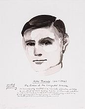 Marlene Dumas (b.1953) - Alan Turing