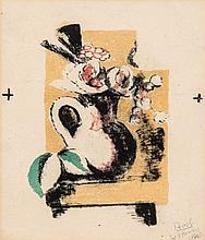Vanessa Bell (1879-1961) - Jug of Flowers