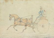 Henry Thomas Alken (1785-1851) - Horse and carriage