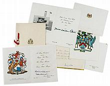 POLITICAL INTEREST - INCL. COMMONWEALTH PMs - Large collections of Christmas Cards signed by Commonwealth Prime...