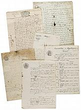 COLLECTION OF FRENCH DOCUMENTS - Large collection of French legal and administrative documents