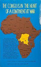 **CONGO - MOBUTU - Three 112 x 71.5 cm unique handmade posters attacking...