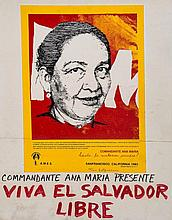 **FEMINISM - WOMEN AGAINST IMPERIALISM - Collection of handmade posters used in political demonstrations...