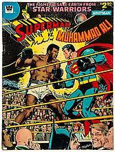 ALI, MUHAMMAD - Rare copy of 'Superman vs. Muhammad Ali, The Fight To Save Earth...