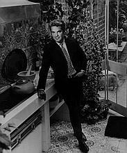 Angus McBean (1904-1990) - Robert Carrier in His Kitchen Garden, London, 1962