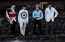 Tony Frank (b.1945) - The Who, 'Rails et Charbon', 1966